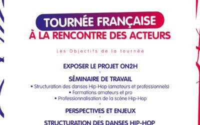Le Tour de France : découvrez les points d'étape de tournée française d'ON2H pour rencontrer les acteurs de terrain.
