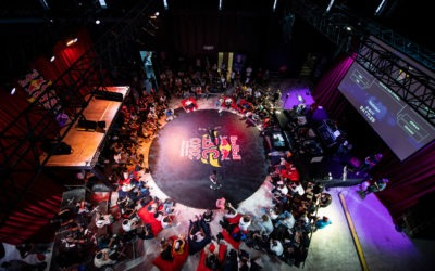 Bboy Pac Pac et Bgirl Fanny ont remporté la Finale Française du RedBull BcOne